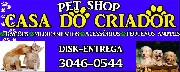 Pet shop casa do criador